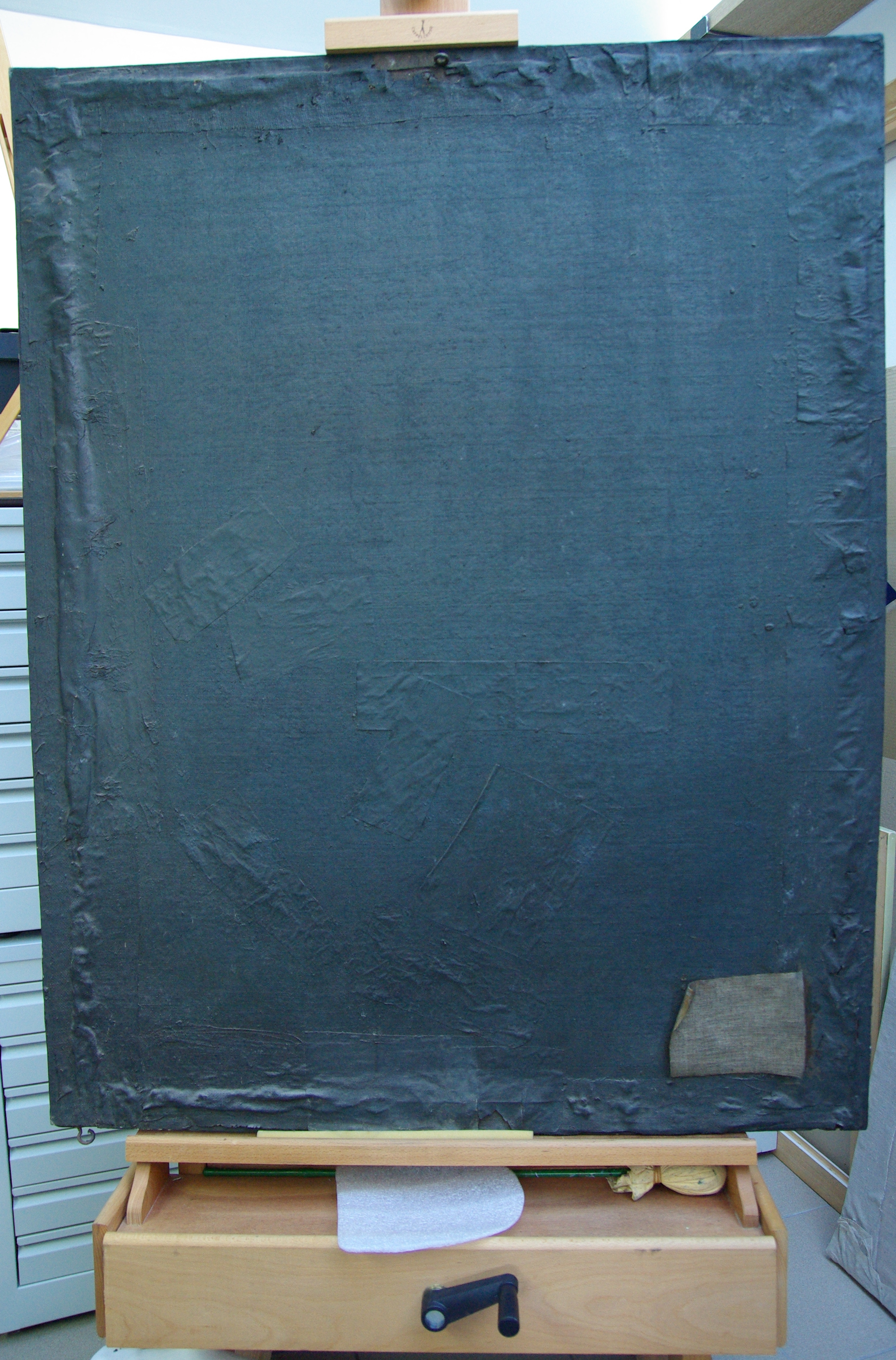 back-of-the-painting-covered-with-bitunous-black-paint